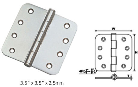 Stainless Stee Residential Hinges - Parliament Hinges